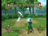 Играем в наруто version 2 Хаку против Гаары в детстве